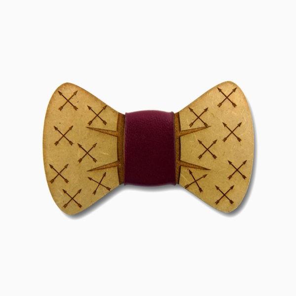 gravata para cachorro em mdf flechas