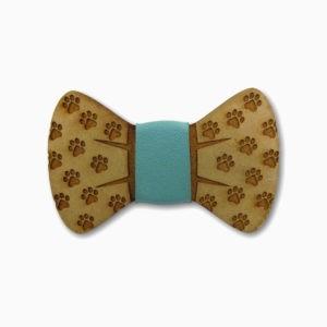 gravata para cachorro em mdf patinhas