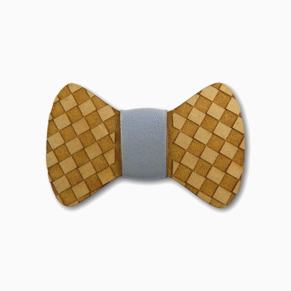 gravata para cachorro em mdf xadrez