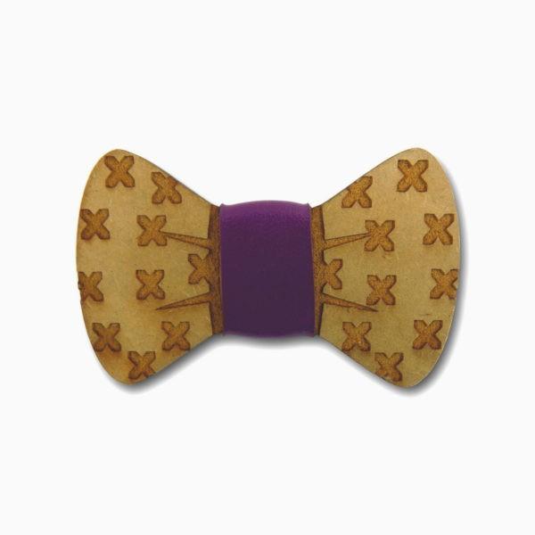 gravata para cachorro em mdf xis