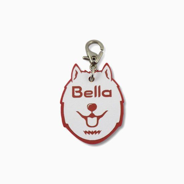placa de identificação para cães personalizada